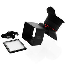 GGS Perfect SLR 7.6cm LCD Foldable 3.0X Viewfinder for Canon Nikon Pentax