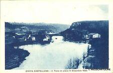 CIVITA CASTELLANA - Il Treia in pieno - 11 dicembre 1920 - 1925