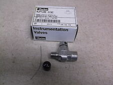 NEW Parker 4M4F-RV6LCK-18-SS Rupture Disc Valve  *FREE SHIPPING*