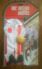 """VINTAGE 1975 MR ACTION OUTFITS 12"""" G.I. JOE  BOOTS HELMET RIDING OUTFIT"""