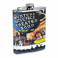 Mystery Science Theater 3000 Flask D129 8oz Stainless
