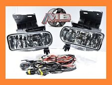 Clear Fog Lights lamp Chevy 99-02 1500 00-01 3500 00-06 Suburban Tahoe Wiring