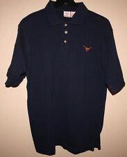 Mens CO-OP CAMPUS WEAR UT Austin Texas University Longhorns Polo Shirt SMALL