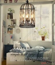 Vintage Bird Cage lights Chandelier ceiling light bedroom living room