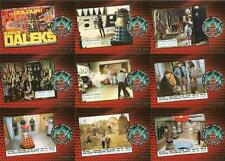 Dr Doctor Who Daleks 2150AD Full 9 Card Foil Chase Set from Unstoppable Cards