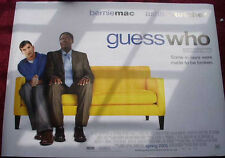 Cinema Poster: GUESS WHO 2005 (Quad) Ashton Kutcher Bernie Mac