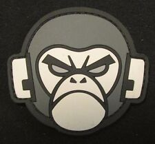 ANGRY MONKEY PVC FACE LOGO TACTICAL COMBAT ARMY MILSPEC MORALE SWAT HOOK PATCH