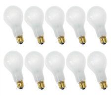10 x ampoule 200w e27 Mat Ampoule 200 watts ampoules ampoules ANTICHOC