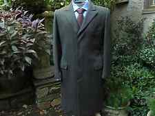 vtg. Saks Fifth Avenue Barleycorn Tweed Wool Chesterfield Overcoat, 36/XS