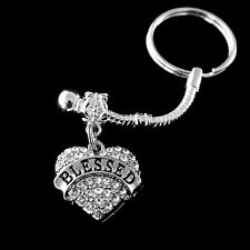 Blessed key chain Religious blessing keychain Blessing key chain keychain