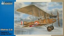 Special Hobby 1/48 Albatros C. III Captured & Foreign Service # 48113