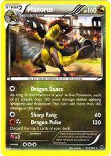 Pokemon XY BREAKthrough Haxorus 111/162 Holo Rare Card
