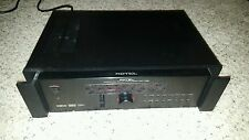 ROTEL RSP-1068  SURROUND SOUND 8 CHANNEL PRE-AMPLIFIER PROCESSOR no Remote used