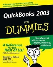 QuickBooks 2003 For Dummies by Nelson, Stephen L.
