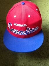 Mitchel and Ness Montrreal Canadiens snapback hat NHL HOCKEY