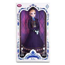 """Authentic Disney Limited Edition Elsa 17"""" doll LE Frozen March 2015 Purple Dress"""