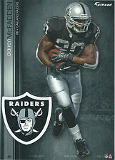 DARREN McFADDEN FATHEAD TRADEABLES RAIDERS ARKANSAS RAZORBACKS STICKER 2013 #49