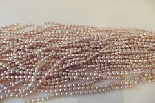 110+ pcs x Glass Pearl Rice Grain Beads:#96D Soft Caramel