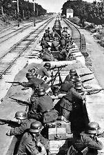 WW2 - POLOGNE - Train blindé allemand