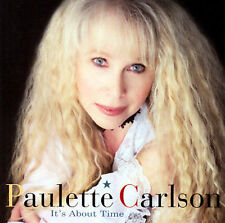 Paulette Carlson It's About Time 12 track 2005 cd NEW!