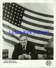 "Thomas Mitchell Promo Photograph ""Mayor of the Town"" American Flag MCA-TV"