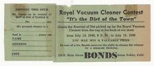 RARE1949 ADVERTISEMENT - ROYAL VACUUM CLEANER - GRASS VALLEY CALIFORNIA-