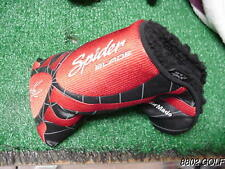 Very Nice Taylor Made Spider Black Red Blade Putter Headcover