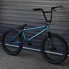 """2017 WE THE PEOPLE BMX BIKE JUSTICE 20"""" TRANS TEAL BICYCLE 20.5"""" Toptube"""