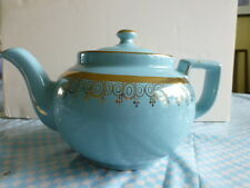 Hall Blue and Gold TEAPOT NEW LOWER PRICE