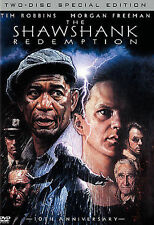 Brand New DVD THE SHAWSHANK REDEMPTION!-TIM ROBBINS-MORGAN FREEMAN-2-DISC SPECIA