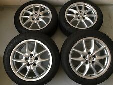 "19"" ORIGINAL PORSCHE CAYENNE DESIGN FELGEN WINTERRÄDER 955 957 FACELIFT 8mm 2014"