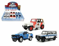 JADA 1:43 DISPLAY JURASSIC WORLD ASSORTMENT Diecast Car Set Of 3
