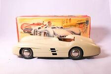 Vintage Rare JNF Voiture Mercedes Tin Friction Car Made In West Germany With Box