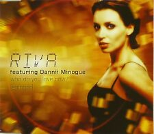 Maxi CD - Riva - Who Do You Love Now? (Stringer) - #A2697