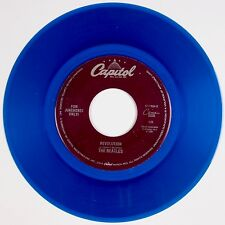 THE BEATLES: Revolution / Hey Jude CAPITOL Juke Box NM STOCK Blue Wax 45