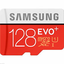 128GB micro SD SDXC Evo Class 10 UHS-I 80MB/s TF Memory Card 128G Galaxy for d48