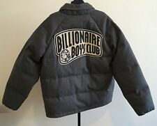 100% Authentic BILLIONAIRE BOYS CLUB Gray Puffer Down Jacket With Hood XL NEW