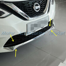 New Chrome Front Bumper Cover Trim for Nissan Sentra 2016