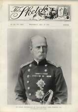 1900 Indian Photograph Field Marshal Lord Roberts