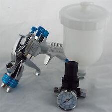 Devilbiss SLG-620 Compliant Solvent Gravity Spray Gun 1.3mm + Pressure Regulator