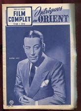 FILM COMPLET N°304. GEORGE RAFT: INTRIGUES EN ORIENT. 1952.