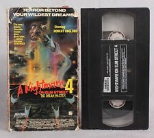 RARE VINTAGE A NIGHTMARE ON ELM STREET 4 THE DREAM MASTER VHS OOP VHS HALLOWEEN