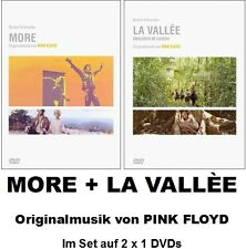 MORE + La Vallée, Vallee, Obscured by Clouds, PINK FLOYD, 2 x 1 DVD NEU + OVP!