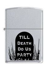 Zippo 3191 till death do us party RARE & DISCONTINUED Lighter