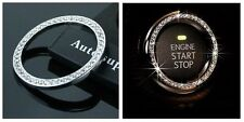 Car ignition bling diamante rhinestones crystal ring - key starter or keyless