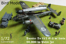 Dornier Do 217 E-2 w/ 20.000 hp Lorin    1/72 Bird Models Umbausatz / conversion