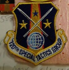 USAF FLIGHT SUIT PATCH, 720TH SPECIAL TACTICS GROUP, COLOR