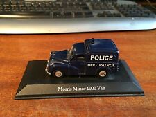 Atlas Editions 1/43 Scale Classic British Police Morris Minor 1000 Van