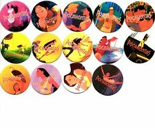 DISNEY POCAHONTAS MOVIES CAPS Tazos GIFT KIDS Lot of 28 pogs Awesome Game