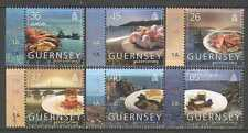 Guernsey 2005 Europa/Gastronomy/Food/Boats/Fishing/Tourism 6v set (n26980)